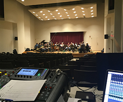 Remote Recording, Location Audio, Concert Recording, Classical, Choir, Big Band